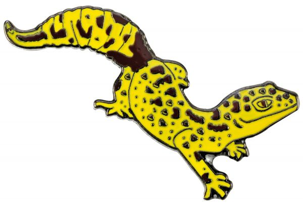 "Anstecker (Pin) ""Leopardgecko"""