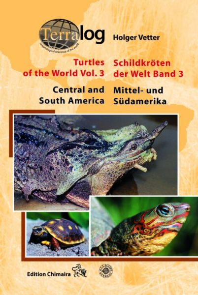 Terralog 3:Holger Vetter € 34,80 Turtles of the world,Central an