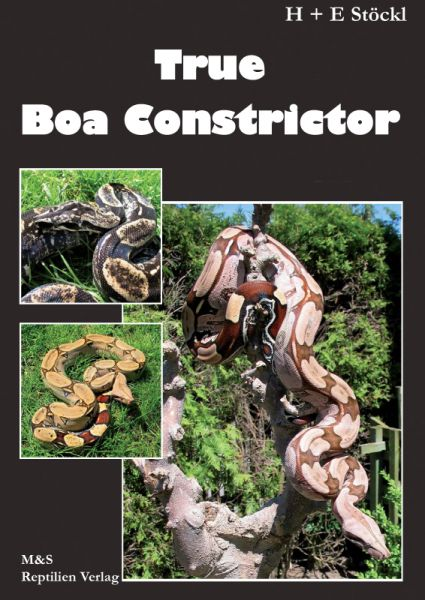 True Boa Constrictor, H. + E. Stöckl, english edition