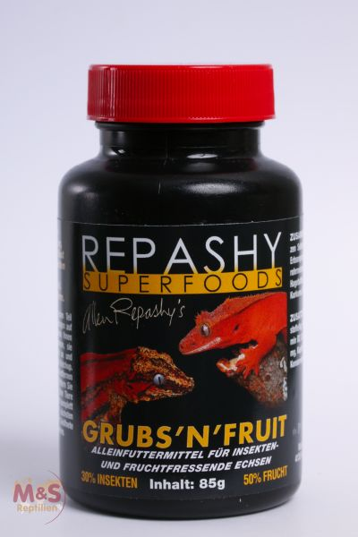 NEU: Repashy Grubs N Fruit ( Mix Crested/Grub ) 84g