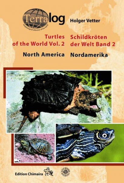 Terralog 2:Holger Vetter € 34,80 Turtles of the world,North Amer