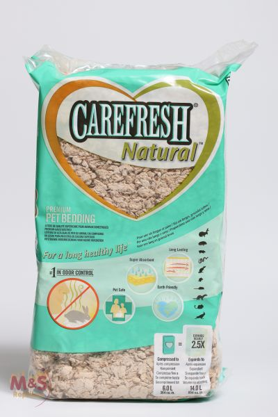 Sonderangebot: Carefresh Natural Substrat auf Cellulose Basis 14 Liter Sack